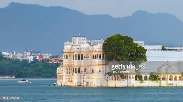 Lake Palace on the island of Jag Niwas in Lake Pichola, Udaipur, India.