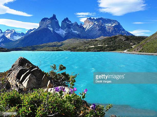 Lake Pehoé and Los Cuernos in Torres del Paine