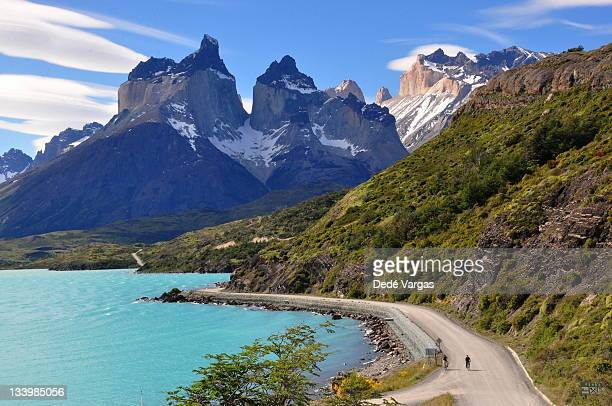 Lake Pehoe and Los Cuernos in Torres del Paine