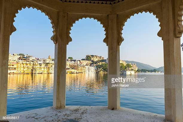 Lake Pichola in Udaipur, Rajasthan, India