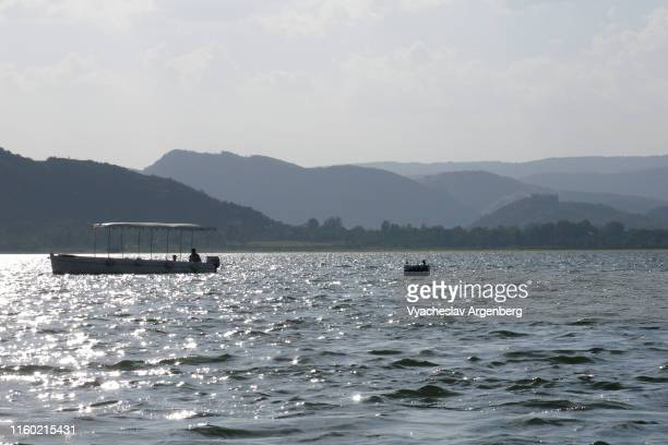 lake pichola, udaipur, india - argenberg bildbanksfoton och bilder