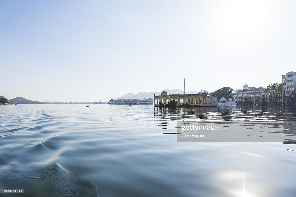 Lake Pichola, Udaipur, India : Stock Photo