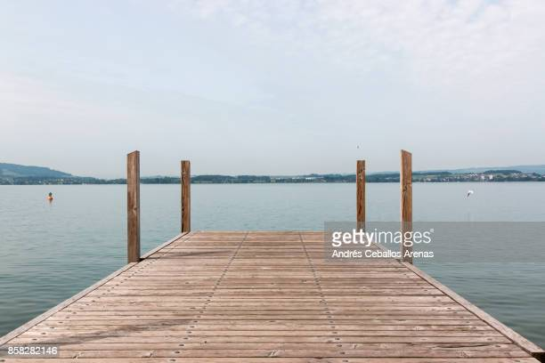 lake pier - pier stock pictures, royalty-free photos & images