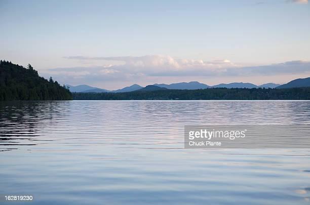 Lake Placid At Dusk