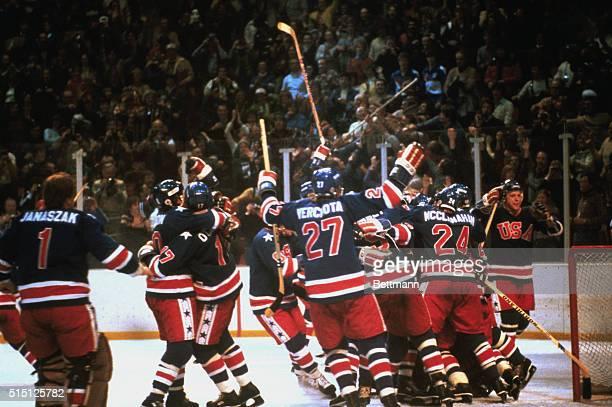 Lake Placid, New York: US hockey team wins gold, at Lake Placid, 1980.