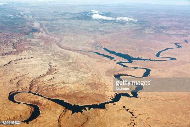 Lake Powell Aerial View