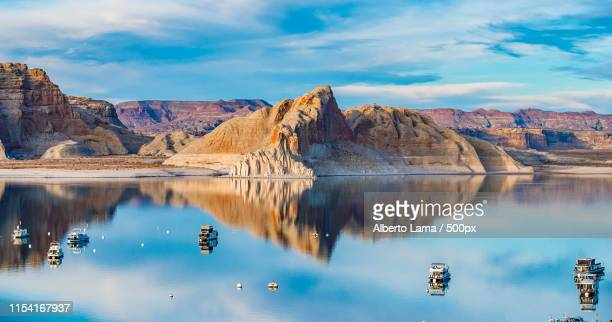 lake powell, az - lake powell stock pictures, royalty-free photos & images