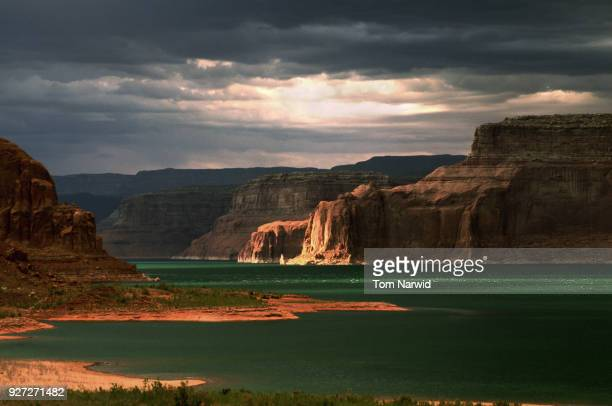 lake powell, az-1 - lake powell stock pictures, royalty-free photos & images
