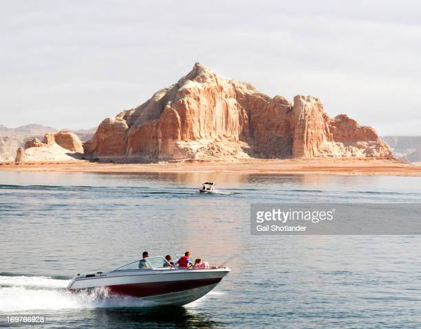 Lake Powell is a man-made lake as a result of Glen Dam. It is located at Page, Arizona and Wahweap, Arizona. The dam resulted in Glen Canyon being...