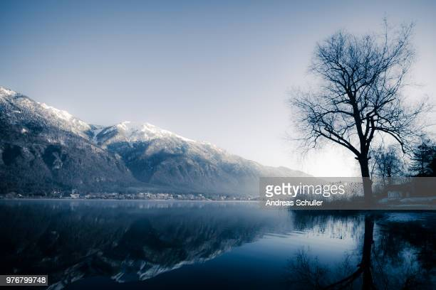 lake pressegg, hermagor, carinthia, austria - carinthia stock pictures, royalty-free photos & images