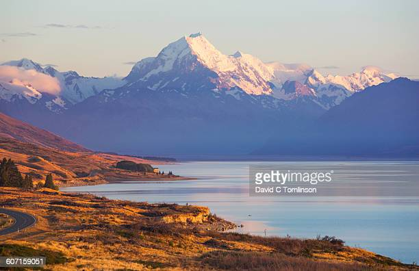 Lake Pukaki and Mount Cook, early morning, Twizel