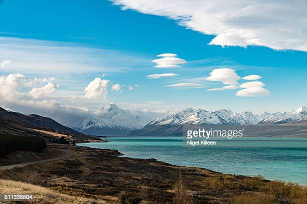 Lake Pukaki and the Southern Alps, New Zealand