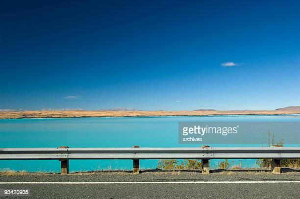Lac pukaki Nouvelle-Zélande