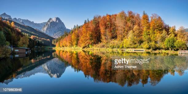 Lake Riessersee, Bavaria, Germany, Europe