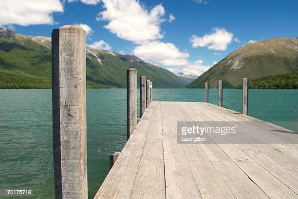 Lake Rotoiti, Nelson Lakes National Park, New Zealand