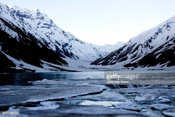 lake saif ul maluk - nazar stock photos and pictures