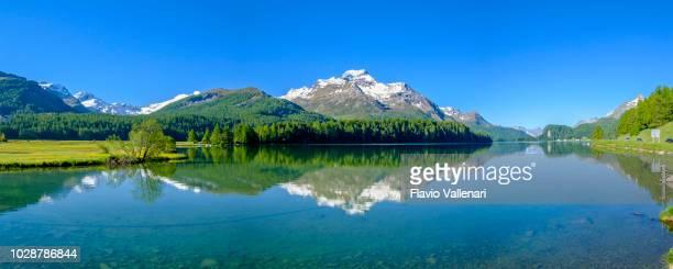 Lake Sils, Upper Engadine valley (Graubünden, Switzerland) - 5 shots stitched