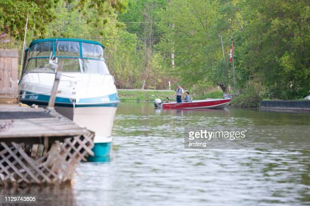 lake simcoe in ontario, canada. - barrie stock pictures, royalty-free photos & images