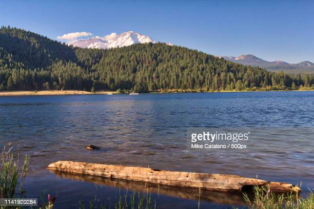 lake siskiyou hdr - siskiyou stock pictures, royalty-free photos & images
