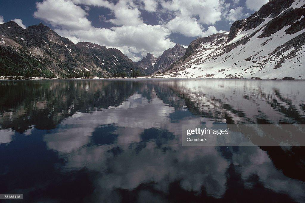 Lake Solitude in Utah : Stockfoto