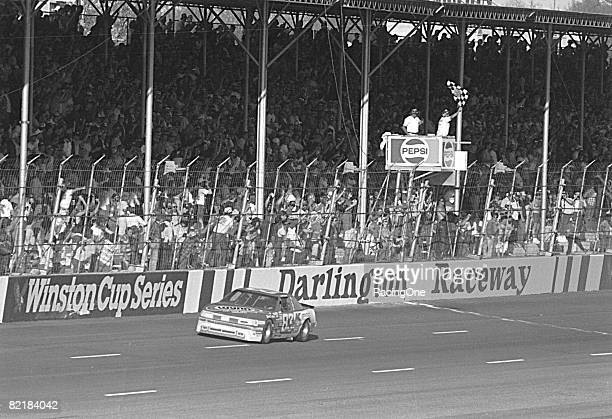 Lake Speed captured his first career NASCAR Cup Series win in 1988 at the Darlington TranSouth 500 He drove an Oldsmobile