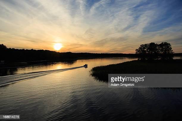 See lake Sonnenuntergang