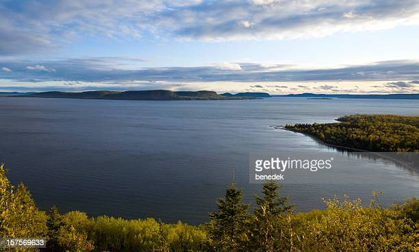 lake superior - ontario canada stock pictures, royalty-free photos & images