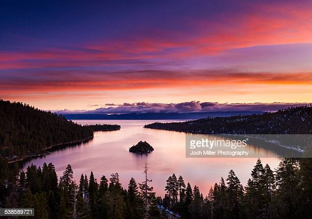 Lake Tahoe at Sunrise