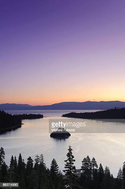 lake tahoe, emerald bay - emerald bay lake tahoe stock pictures, royalty-free photos & images