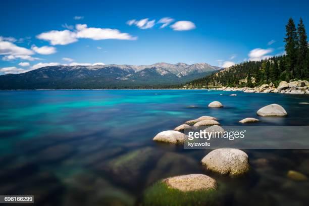 Lake Tahoe landscape, Nevada, America, USA