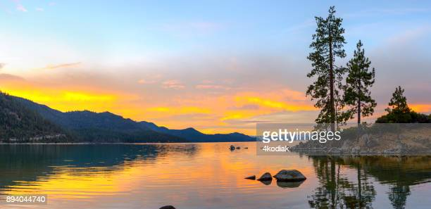lake tahoe panorama - state park stock pictures, royalty-free photos & images