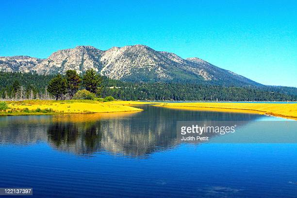 lake tahoe - サウスレイクタホ ストックフォトと画像