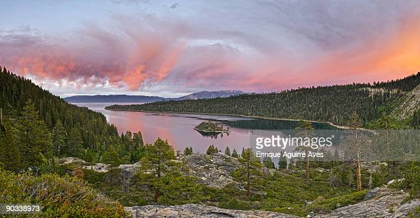 lake tahoe - emerald bay lake tahoe stock pictures, royalty-free photos & images