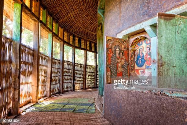 Lake Tana Monastery, Bahir Dar, Ethiopia - December 2, 2017