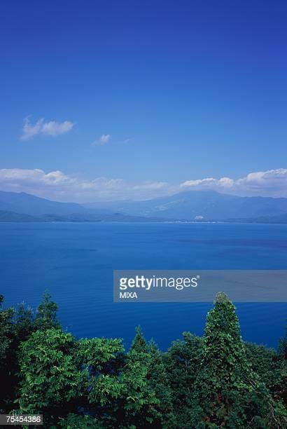 Lake Tazawa in Aomori Prefecture, Japan