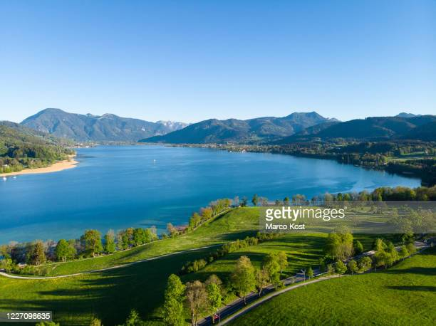 lake tegernsee - tegernsee stock pictures, royalty-free photos & images