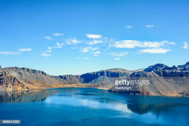 Lake Tianchi scenery,Jilin Province,China.