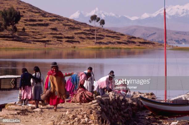 Lake Titicacan Islanders
