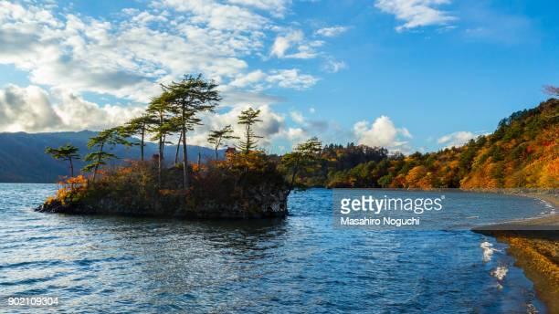 Lake Towada, Aomori, Japan, in autumn