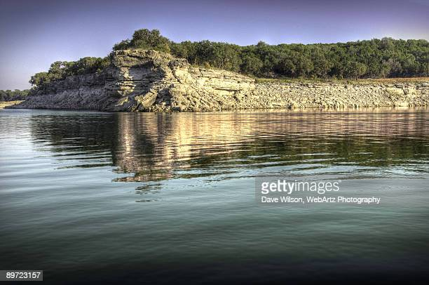 lake travis promontory - dave wilson webartz stock pictures, royalty-free photos & images