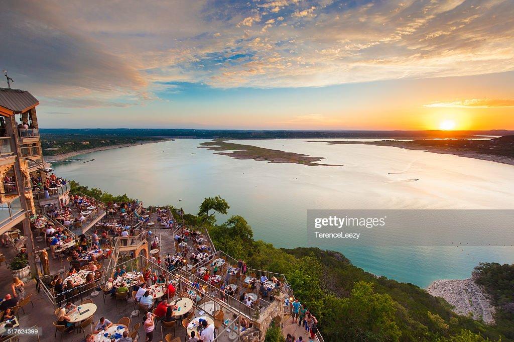 Lake Travis Sunset : Stock Photo