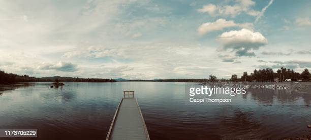 lake umbagog near errol, new hampshire usa - great pond (new hampshire) stock photos and pictures