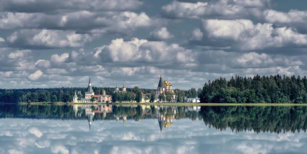 Lake Valdayskoye and Valday Iversky Monastery