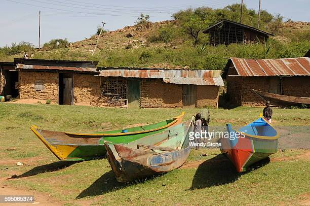 Lake Victoria fishing community around the lake with boats nets and collecting water The HIV and AIDS workplace program focuses on establishing and...