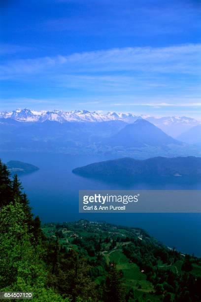 Lake View from Mount Rigi Kulm