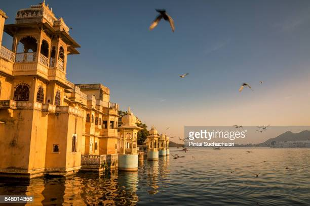 Lake View of Udaipur City, Rajasthan, India