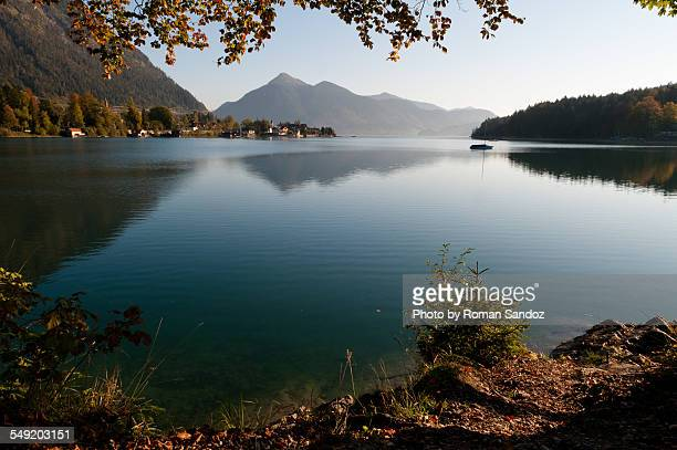 Lake Walchen in Autumn