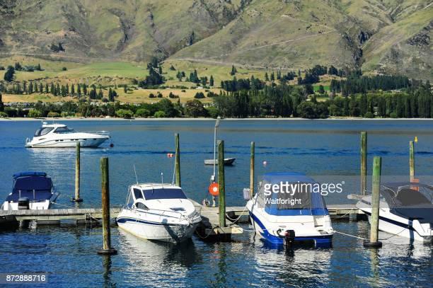 Lake Wanaka scenery,New Zealand