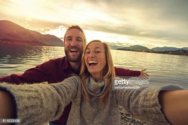 Lake wanaka selfie