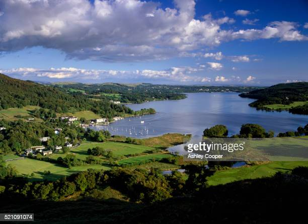 lake windermere in ambleside - lake windermere stock pictures, royalty-free photos & images